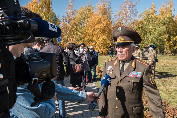 Алматыда Жеңістің 75 жылдығына орай «ҰОС қатысушылар аллеясы» ашылды