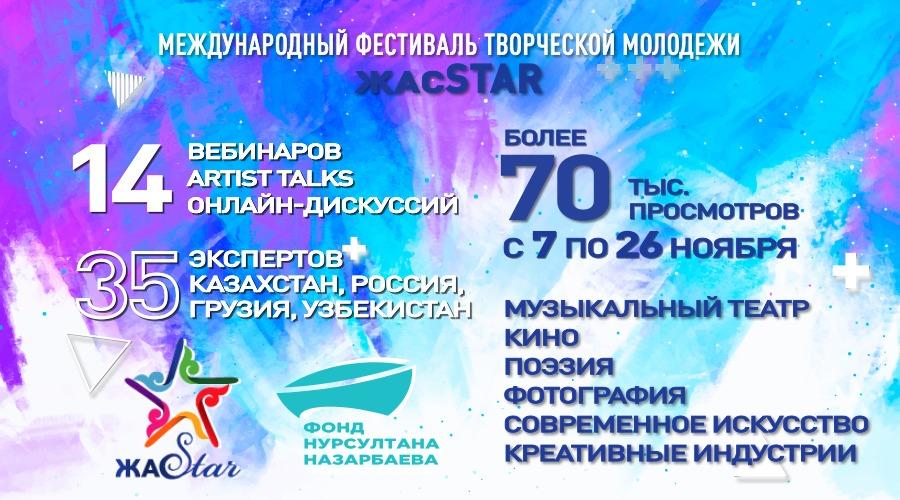 Фестиваль «ЖасSTAR»: творить, создавая фрагменты будущего